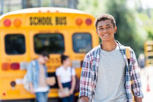 Happy teenage boy - Teen Depression & Anxiety Counseling - Greenville, SC 29615