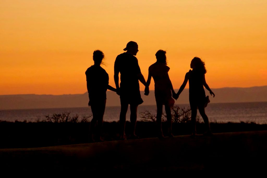 Family Together - Holding Hands - Parent & Family Counseling - Greenville, SC 29615